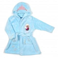 obrázek Tip na dárek - světle modrý plyšový župan Anna a Elsa