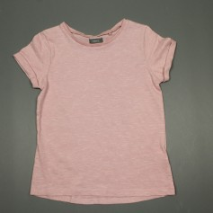 obrázek Starorůžové triko jemný proužek