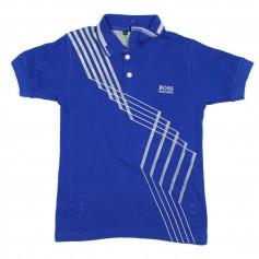 obrázek Modré polo tričko
