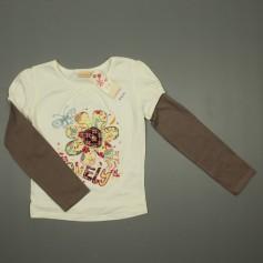 obrázek Kombinované triko s výšivkou