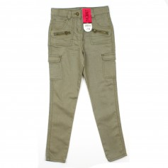 obrázek Kalhoty khaki barvy