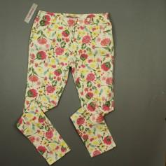 obrázek Elastické kalhoty s motivem květin