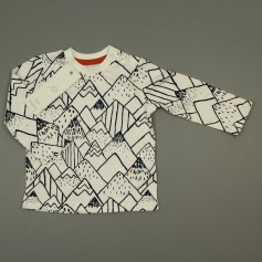 obrázek Tip na dárek - Bavlněné triko s potiskem hor