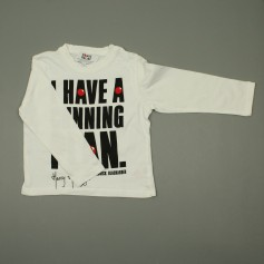 obrázek Bavlněné triko s nápisem